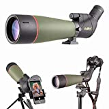 Gosky 2019 Updated Newest Spotting Scope - BAK4 Angled Scope for Target Shooting