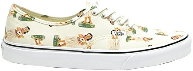 Vans Adults Unisex Authentische Sneaker mit Niedrigen Seiten IM Aloha Stil