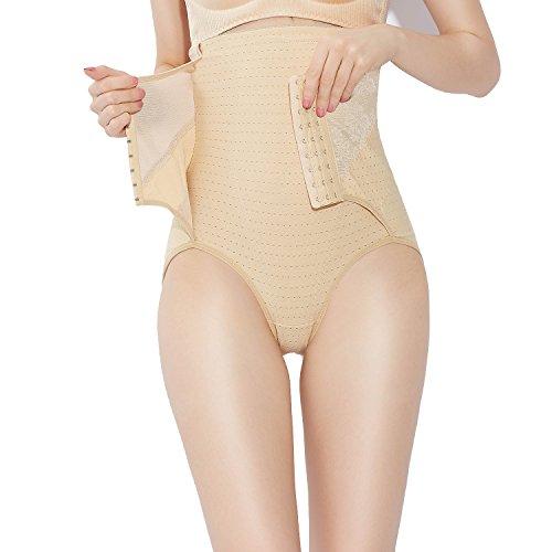 Control Panty Plus (Fzmix Fashion Women Body Shaping High Waist Pants Womens Breathable Panties Slim Seamless Shaping Pants Underwear)