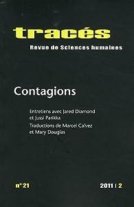 Tracés, n°21: Contagions par Florent Coste