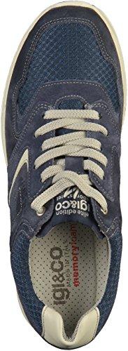 Igi&Co 11225 hommes Baskets Bleu