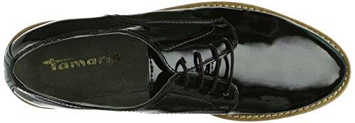 Tamaris 23206, Scarpe classiche stringate modello Derby Donna Grigio (Grau (ANTHRACITE PAT 217))