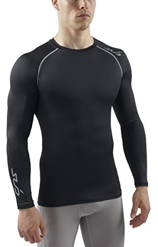 sub-sports-maglietta-termica-a-maniche-lunghe-comprimente-mantiene-la-pelle-fresca-da-uomo-nero-nero