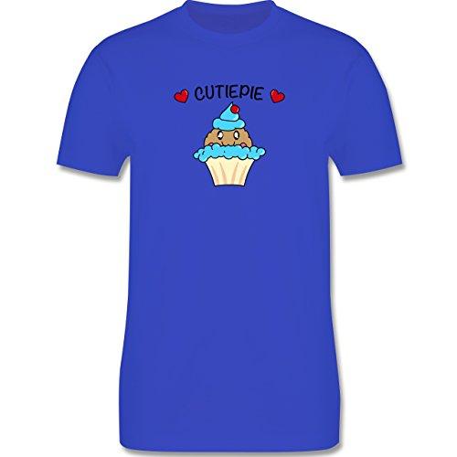 Comic Shirts - Cutiepie - Herren Premium T-Shirt Royalblau