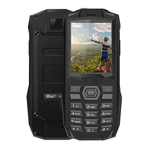 Peedeu Blackview BV1000, Multifunktionstasten-Mobiltelefon, 2+1 Triple Slot Einfaches Telefon, Wasserdicht, Stoßfest Und 3000 MAh Großer Akku 160g 2g Pc