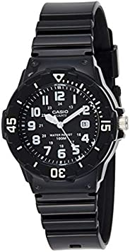 Casio Women's Black Dial Resin Analog Watch - LRW-200H-1