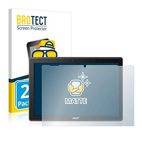 BROTECT Entspiegelungs-Schutzfolie kompatibel mit Acer Switch 3 (2 Stück) - Anti-Reflex, Matt