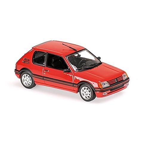 Voiture Miniature Peugeot 205 - Maxichamps - 940112300 - Peugeot 205 GTI