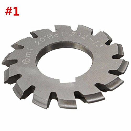 CoCocina Modul 1 PA20 Bohrung 22 mm #1-8 HSS Involute Getriebefräser #1