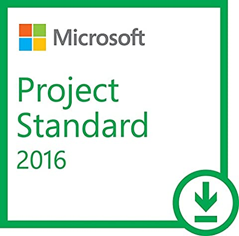 Microsoft Project 2016 Standard 1 PC Vollversion Lizenz (Project Microsoft Office)