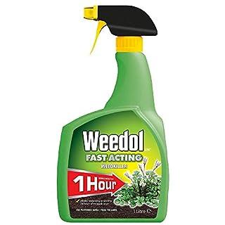 ( x8 ) Weedol 015001 Fast Acting Weedkiller 1L RTU