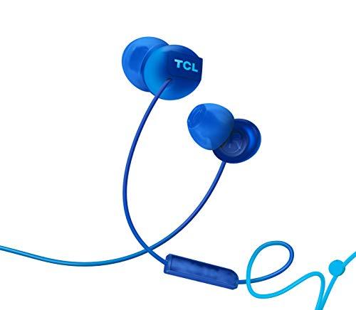 opfhörer mit Mikrofon (Geräuschisolierung, sicherer Halt, integrierte Fernbedienung und Mikrofon zur Steuerung von Musik und Anrufen, Echounterdrückung), Ocean Blue ()