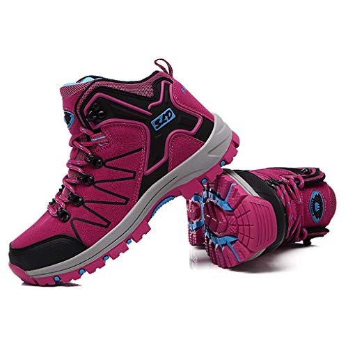 Fascino-M』 Wanderschuhe Herren Damen Wanderstiefel Atmungsaktive Stiefel, strapazierfähige Wanderstiefel, gepolsterte Wanderschuhe - Ideal für Trekking und Reisen Schuhe für Unisex