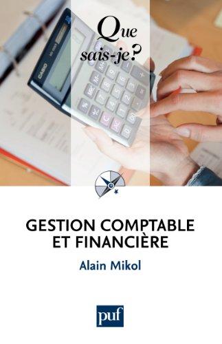 Gestion comptable et financire:  Que sais-je ?  n 2328