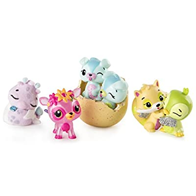 Hatchimals Colleggtibles Series 3 4 Pack & Bonus : everything five pounds (or less!)