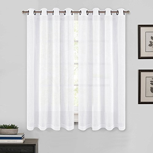 PONY DANCE Eyelet Voile Curtains...