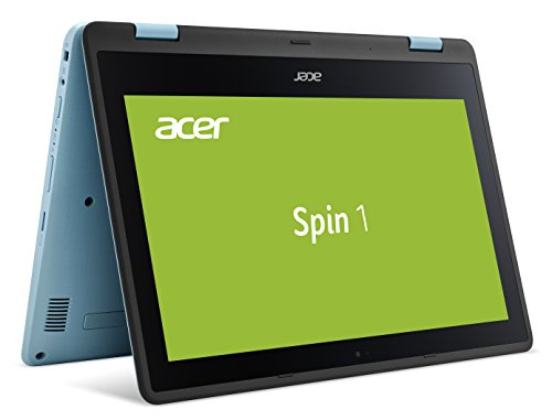 "Acer Spin SP113-31-C17E 1.10GHz N3350 13.3"" 1920 x 1080Pixel Touch screen Blu, Nero, Turchese Ibrido (2 in 1), Tastiera layout tedesco - QWERTZ"