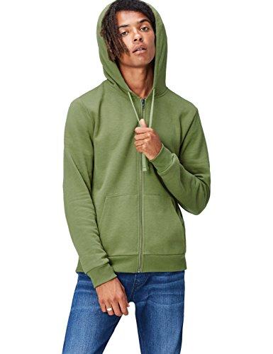 Activewear Hoodie Herren, Grün, Medium -