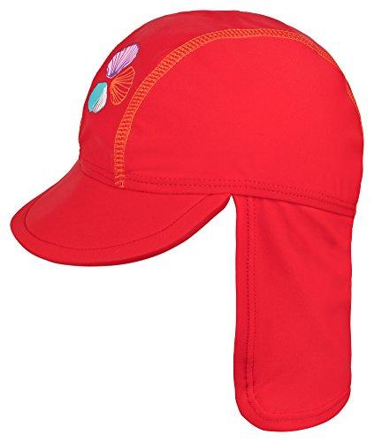 Landora®: UV-Schutz 50+ Kappe/Mütze in rot - Baby-Badebekleidung mit Oeko-Tex® Standard 100 - Baby Rote Mütze