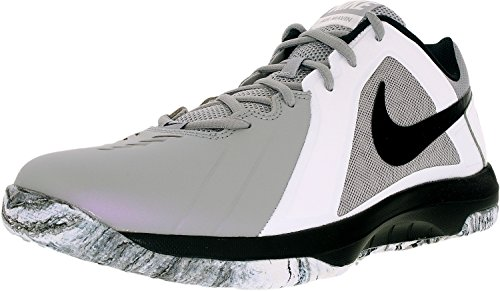 Nike Mens Air Mavin Low Basketball Shoe Wolf Grey/Black-white-pure Platinum