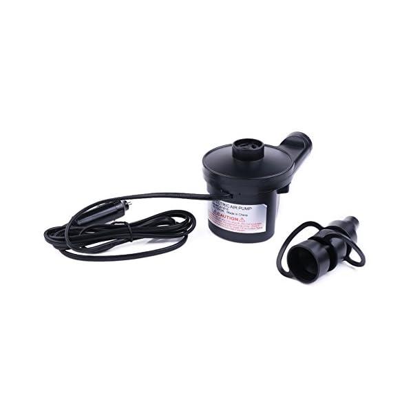 Pompa di aria elettrica con 12V Car Power Adapter, altamente versatile gonfiaggio rapido gonfiare e sgonfiare per… 1 spesavip