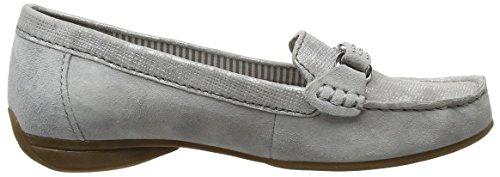 Gabor, Mocassins Femme Gris - Grey (19 stone/grau)