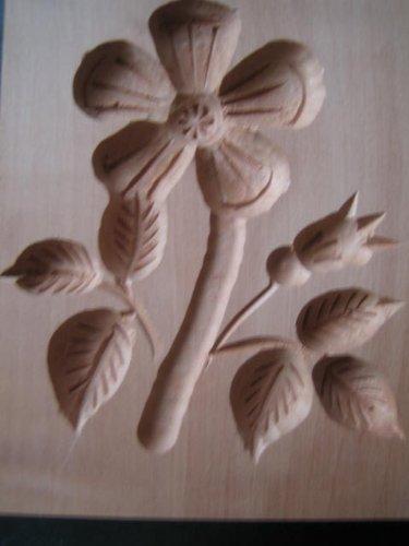 Birnbaum Blume (Springerle-Model, Blume, 10 x 8 cm, Birnbaum)