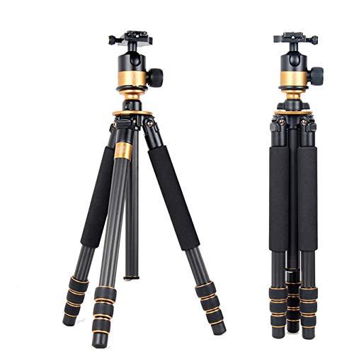 Nvsblt Soporte del trípode y trípode de cámara Digital Panasonic for Q1000C Profesional de la cámara Nikon Fuji Pentax Ricoh Sony Panasonic con el Soporte
