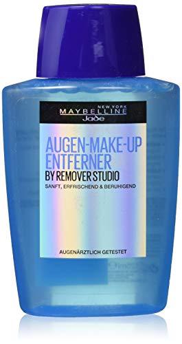 Maybelline Augen-Make-up Entferner, entfernt Augen-Make-up schnell und schonend, erfrischt die Augenpartie, augenärztlich getestet, 125 ml