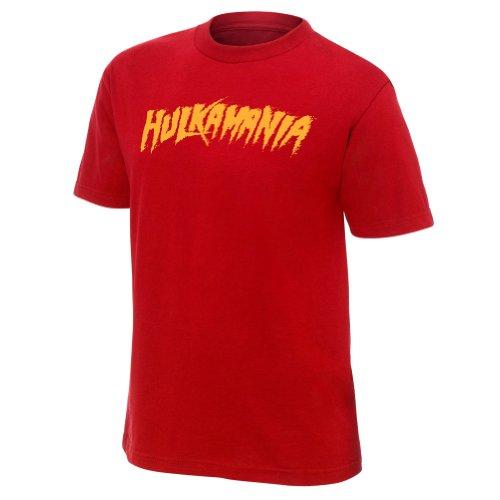 WWE Herren T-Shirt Rot Rot Medium (Wwe-shirts Für Männer)