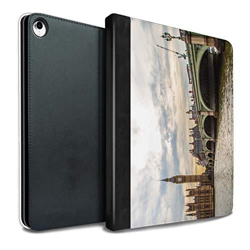 eSwish PU Pelle Custodia/Cover/Caso Libro per iPad PRO 10.5 (2017) Tablet/Ponte di Westminster/Siti Londra Disegno