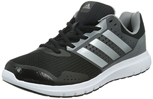 adidas Duramo 7, Herren Laufschuhe, Grau (Core Black/Silver Met./CH Solid Grey), 44 EU (9.5 Herren UK)