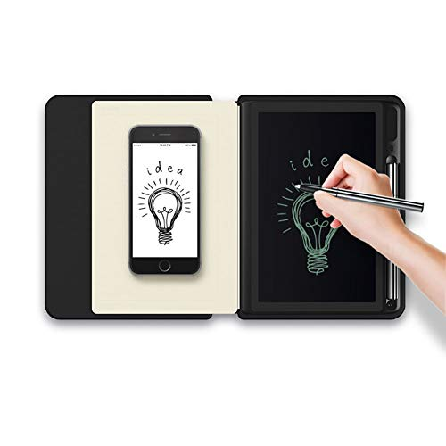 KJHG Tablet Drawing Cloud Storage Digitaler Notizblock - Portfolio-Notizbuch mit Digitalisierungstechnologie - kompatibel mit Android und Apple,Blue