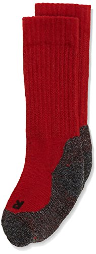 Preisvergleich Produktbild FALKE Unisex - Kinder Socken 10450 Active Warm SO, Gr. 23/26,rot (fire)