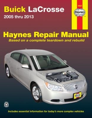 Descargar Libro Haynes Repair Manuals Buick LaCrosse, '05-'13 (19027) by Haynes Repair Manuals de Unknown