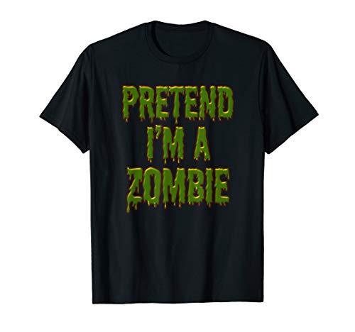 Pretend In A Zombie Faule Halloween-Kostüm - Frauen Kostüm Lebenden Toten