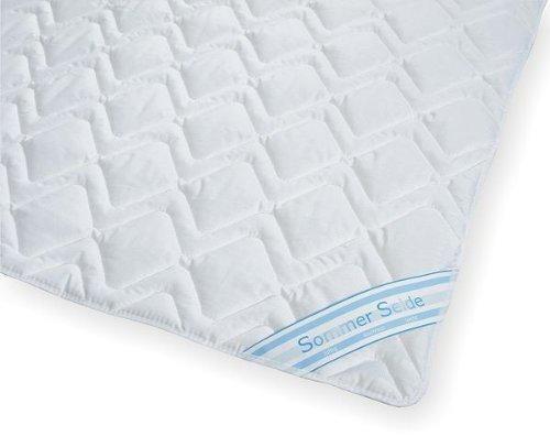 Sommerdecke Bettdecke Wildseide-Baumwolle 200x220 leicht, Füllung 60% Seide und 40% Baumwolle thumbnail
