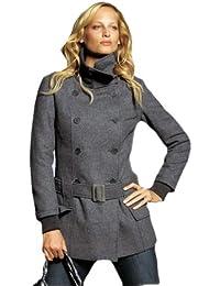 Short coat flecked with grey (493)