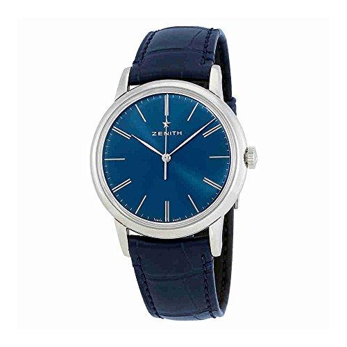 Zenith Elite Automatik blau Zifferblatt Herren Armbanduhr 03.2290.679/51.c700