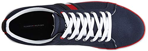 TOMMY HILFIGER Men's Th Navy Sneakers-8 UK/India (42 EU) (P9BMF131)