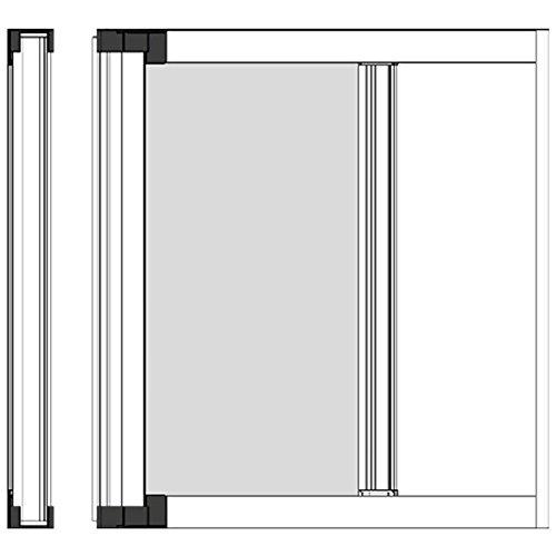 Zanzariera A Rullo Per Porta Cm 150 X 250 - Bronzo