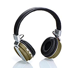 Laploma Hertz Wireless Bluetooth Headphone & Headsets With Mic Color- Gray