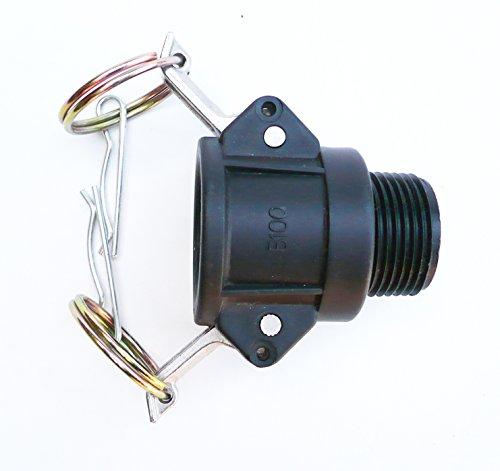 Partie B. Cylindre Fixation. 2,5 cm IBC femelle Cam à 2,5 cm BSP filetage mâle