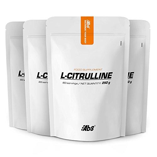 L-CITRULLINE EN POUDRE PACK 3+1 GRATUIT | 332 portions / 1kg | Circulation, Performances sportives (douleurs musculaires) | Fabriqué en France
