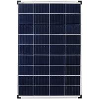 Panel solar de 100 W, policristalino, 100 W, ideal para caravana, jardín, barco.