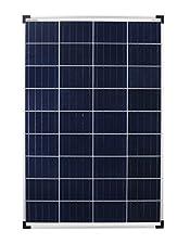 enjoysolar Polykristallin 100 Watt 12V Solarmodul Solarpanel Mono 100W idealfür Garten, Wohnmobil und diverse autarke Systeme      Besondere Merkmale        90cm lang 4mm² Solarkabel mit MC4 Stecker angeschlossen     Zwei integrierte Bypass ...