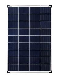 enjoysolar® Poly 100W Polykristallines Solar panel 100Watt ideal für Wohnmobil, Gartenhäuse, Boot ... (Einzelpack)