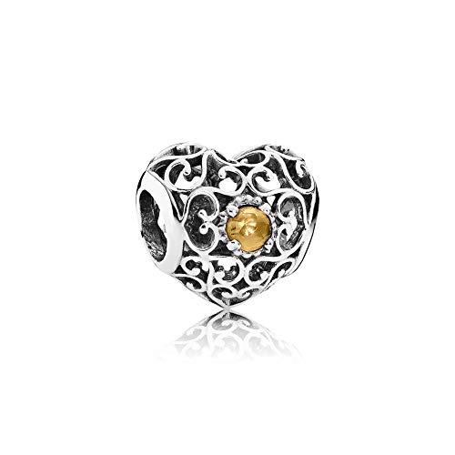 Pandora accessori donna argento 9 carati crisoprasio