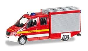 Herpa 092968 - Fahrzeug, Mercedes-Benz Sprinter TSF Feuerwehr