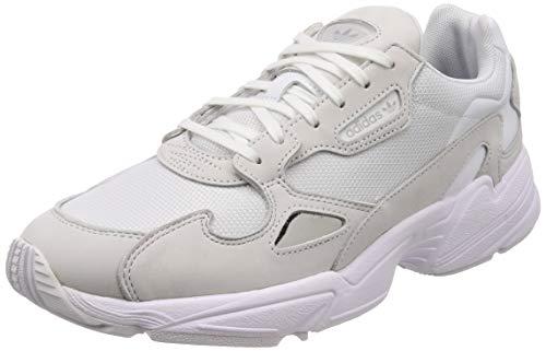 Adidas Falcon W, Zapatillas Deporte Mujer, Blanco